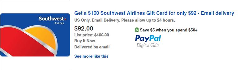 ebay southwest 87